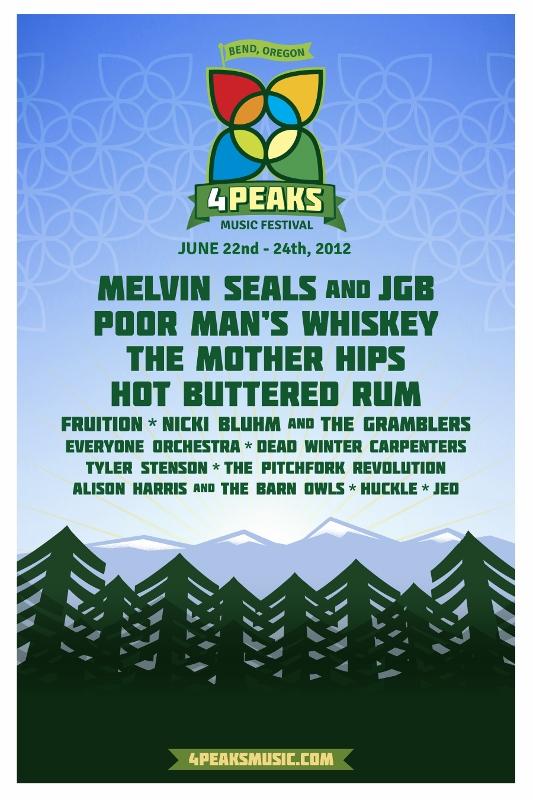 4 Peaks 2012 Lineup