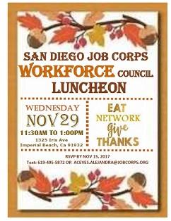 SDJC Lunch Invitation