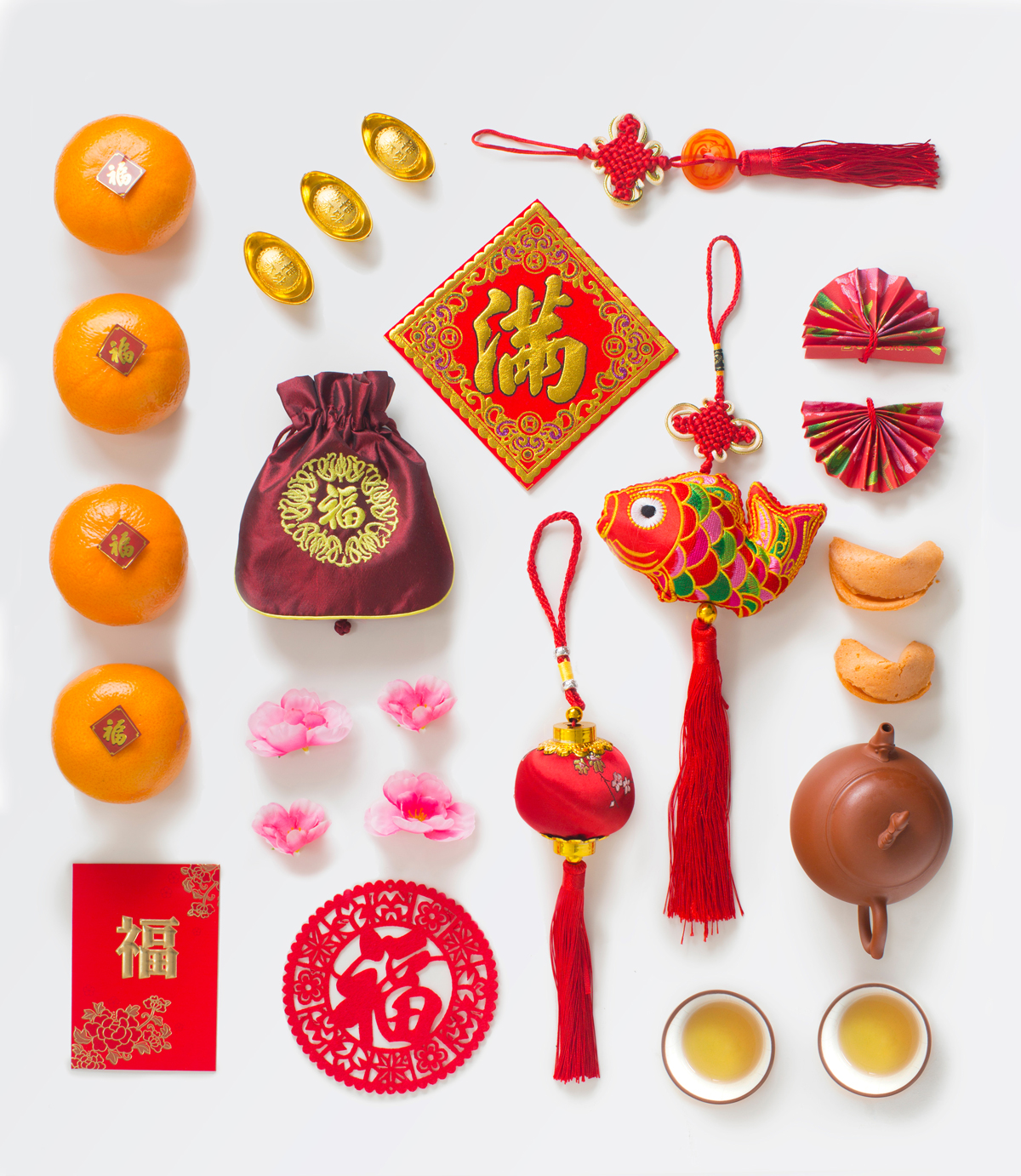 Chinese Lunar New Year Display