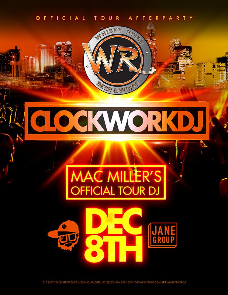 Official MAC MILLER Tour AFTER PARTY with DJ Clockwork at ...
