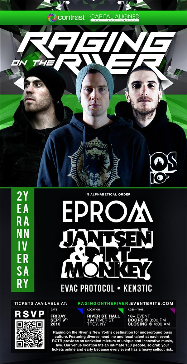Raging on the River w/ EPROM + Jansten + Dirt Monkey