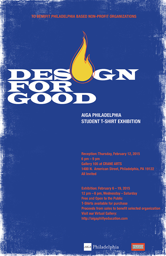 Design for Good Exhibition Poster