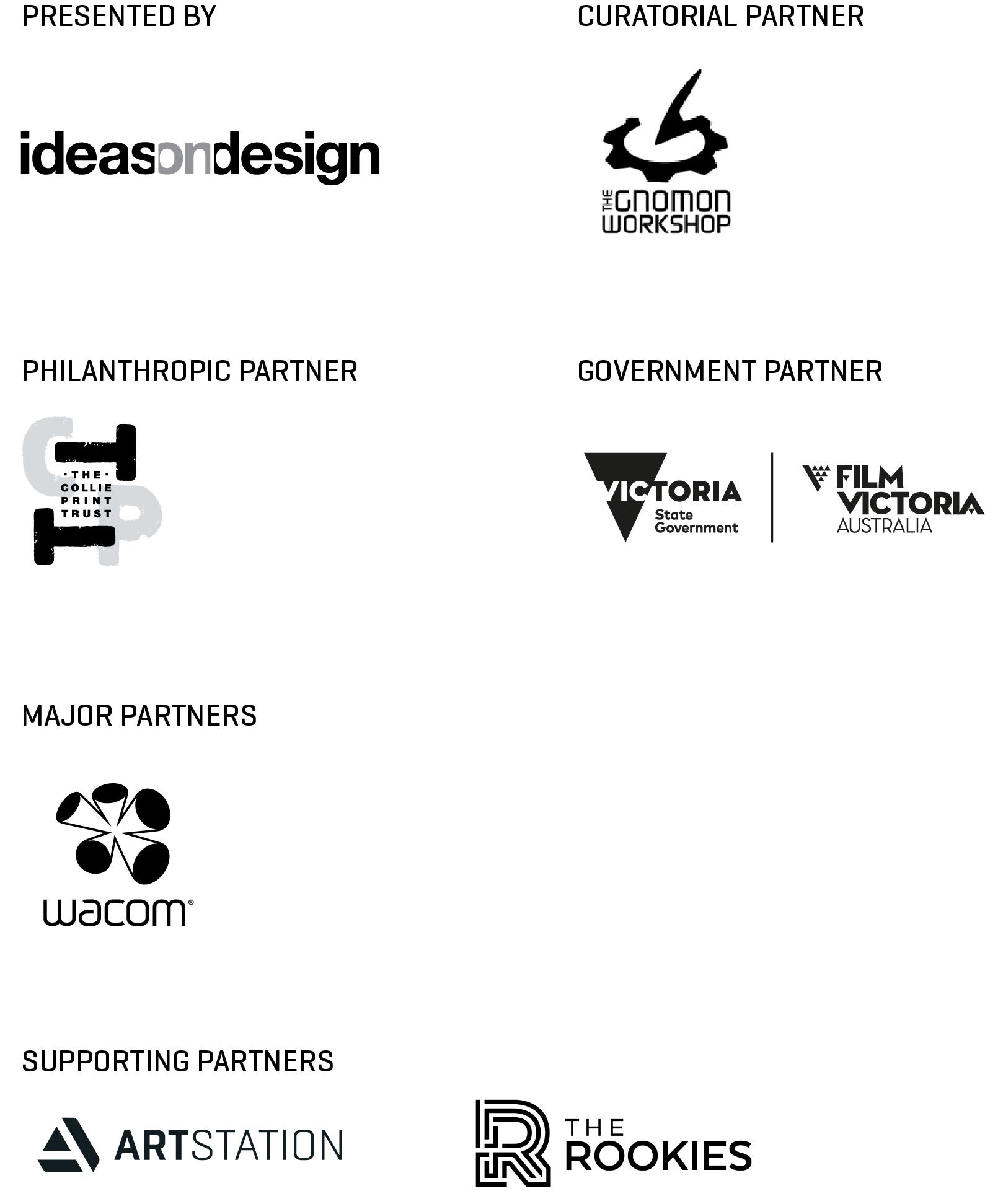 CG Futures Sponsors