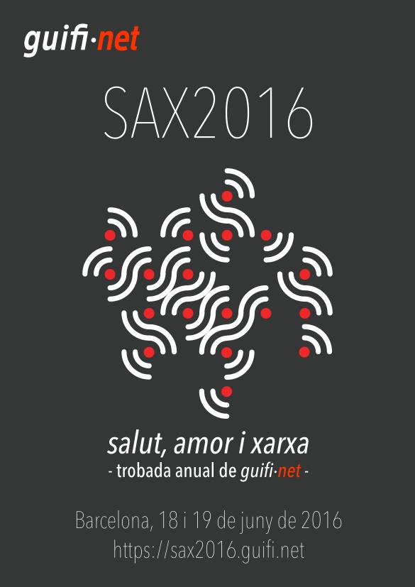 Cartell SAX2016