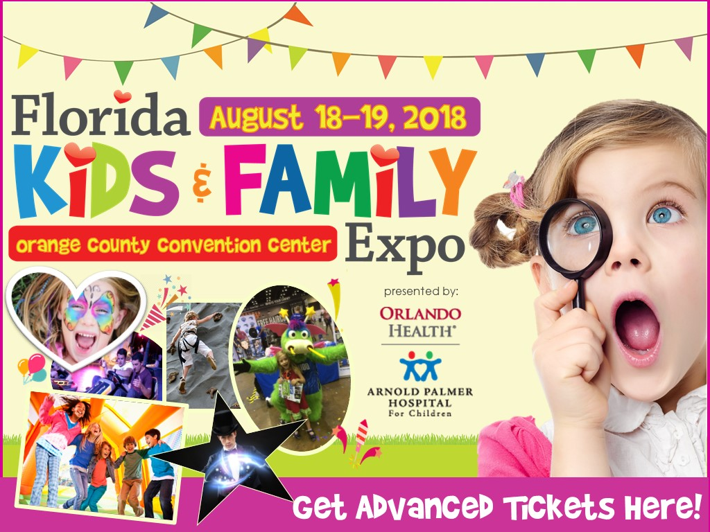Florida Kids and Family Expo Flyer