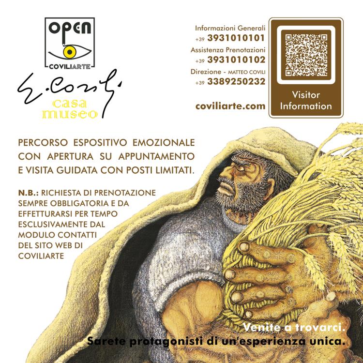 CASA MUSEO COVILI - Richiesta di Prenotazione