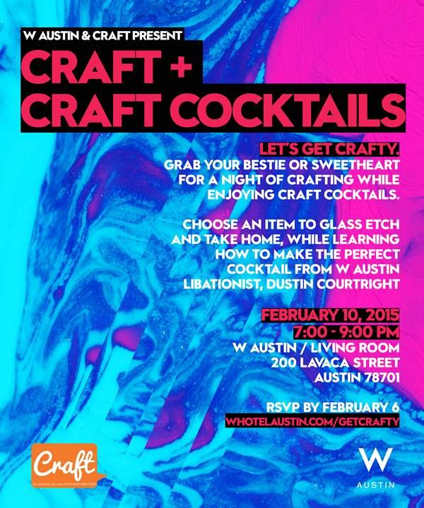 Craft + Craft Cocktails