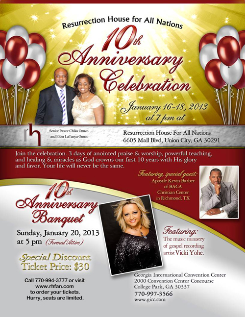 Make Plans to Attend RHFAN's 10th Anniversary Celebration