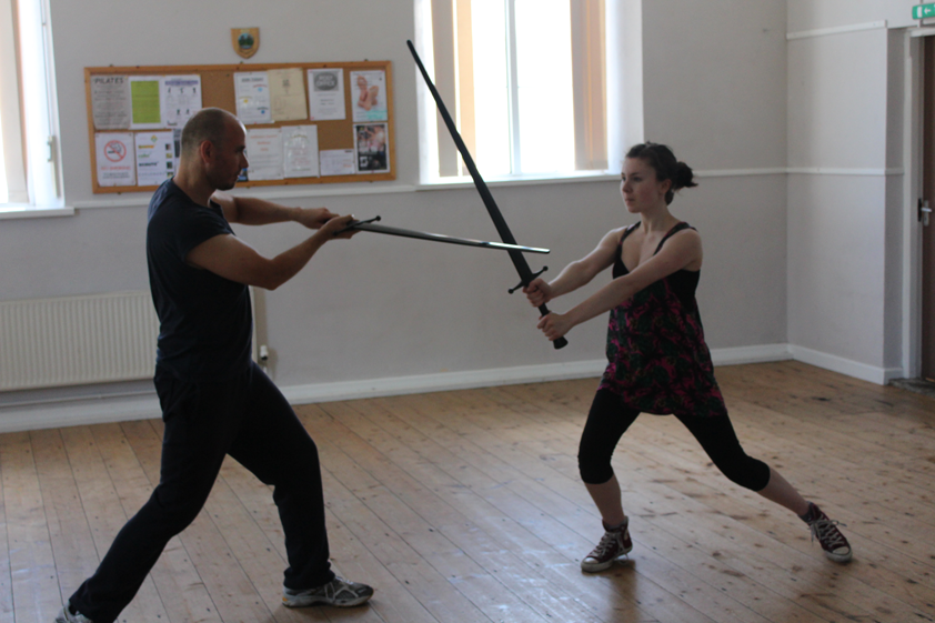 broadsword training