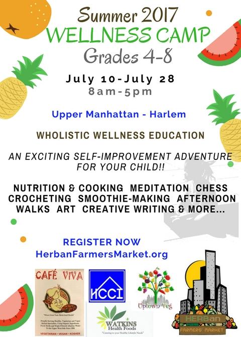 Summer Wellness Camp 2017