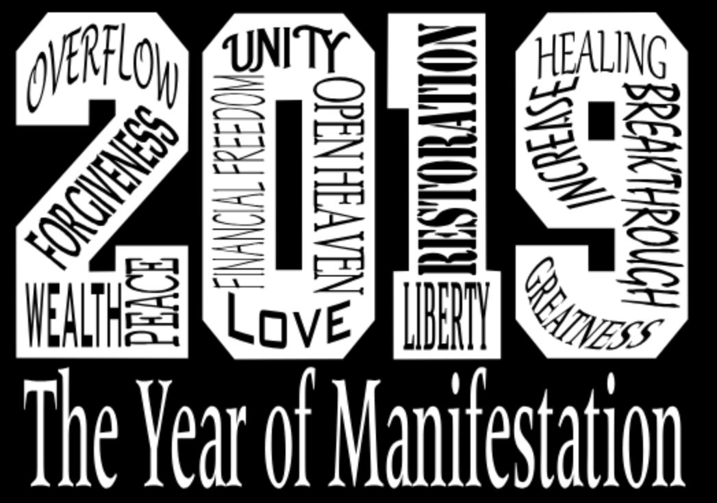 2019 The Year Of Manifestation T-Shirt
