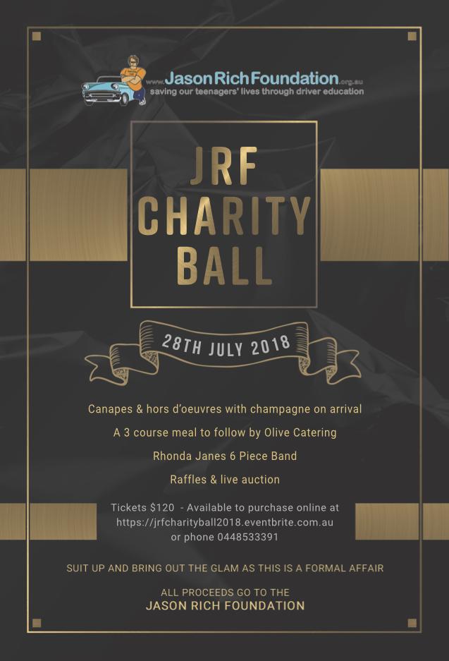 JRF Charity Ball 2018