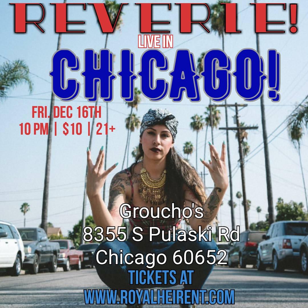 Reverie in Chicago, Friday December 16, 2016