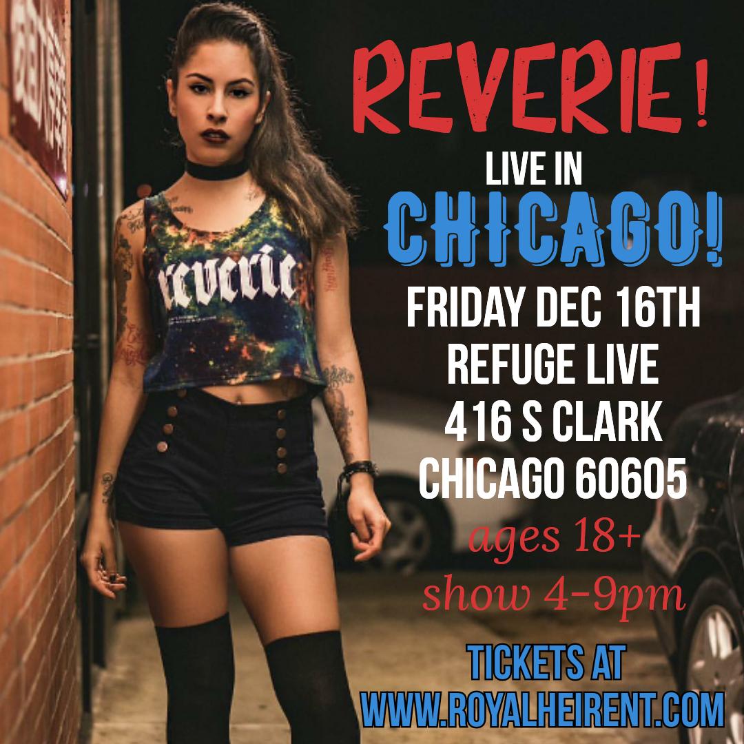 Reverie 18+ event. Chicago