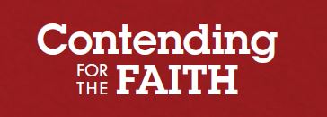 logo contending for the faith