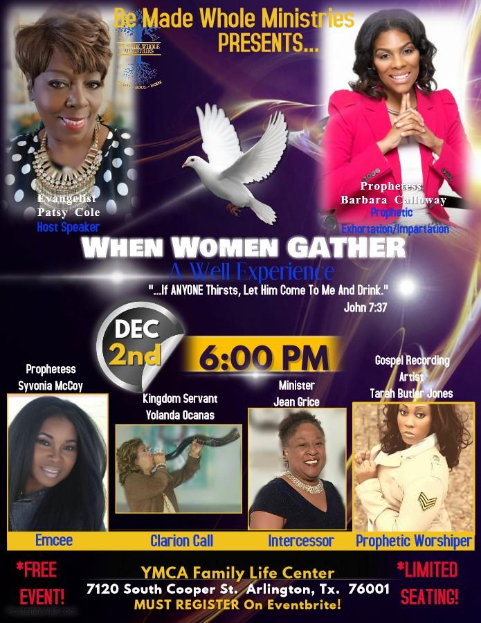When Women Gather Flyer