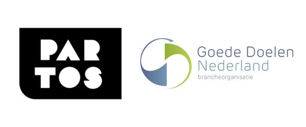 Logo's Partos en Goede Doelen Nederland