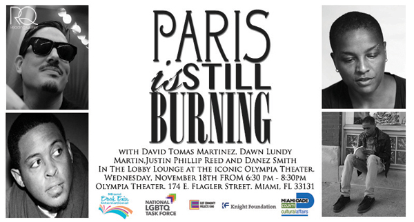 READING QUEER PRESENTS PARIS IS STILL BURNING