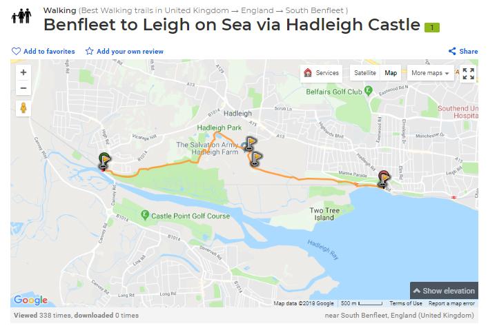 Benfleet to Leigh