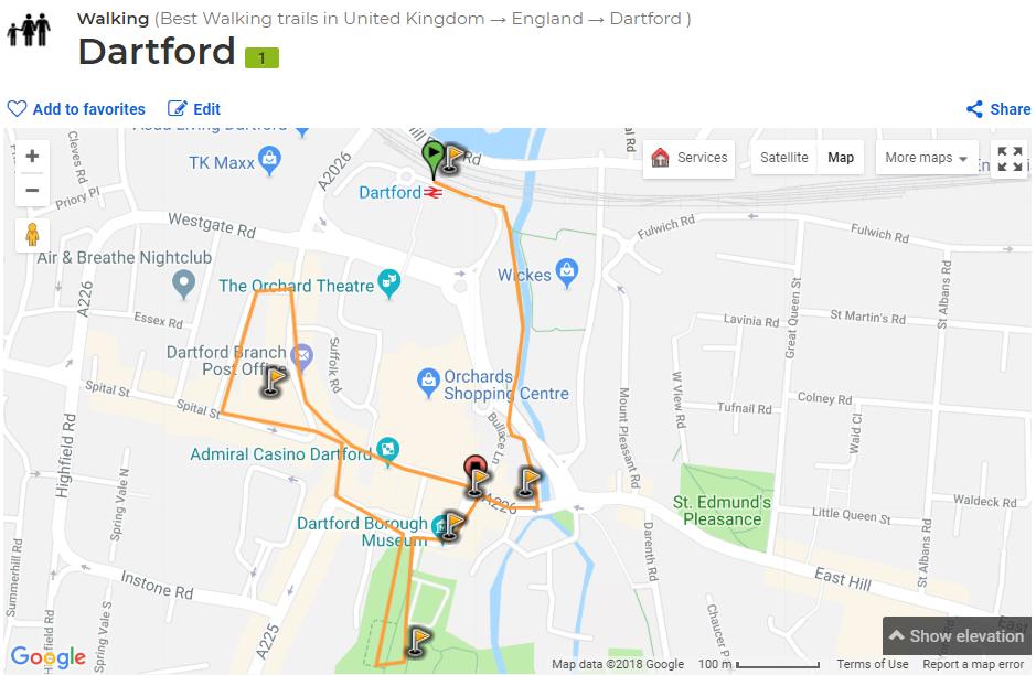 Dartford walk