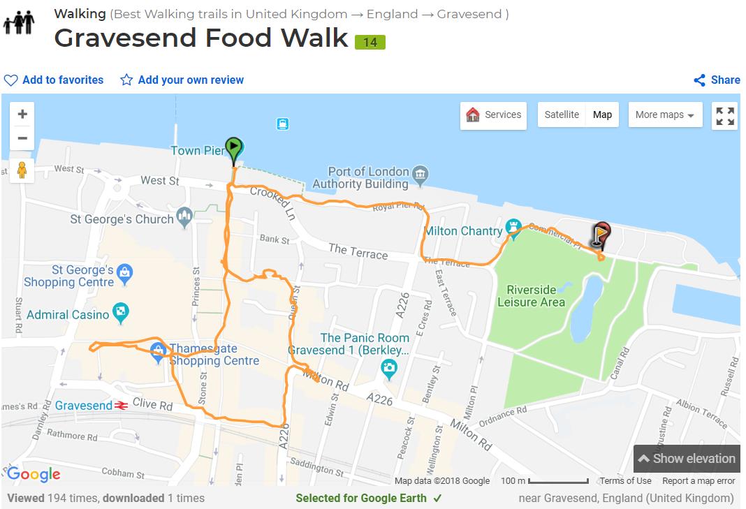 Gravesend Food tour
