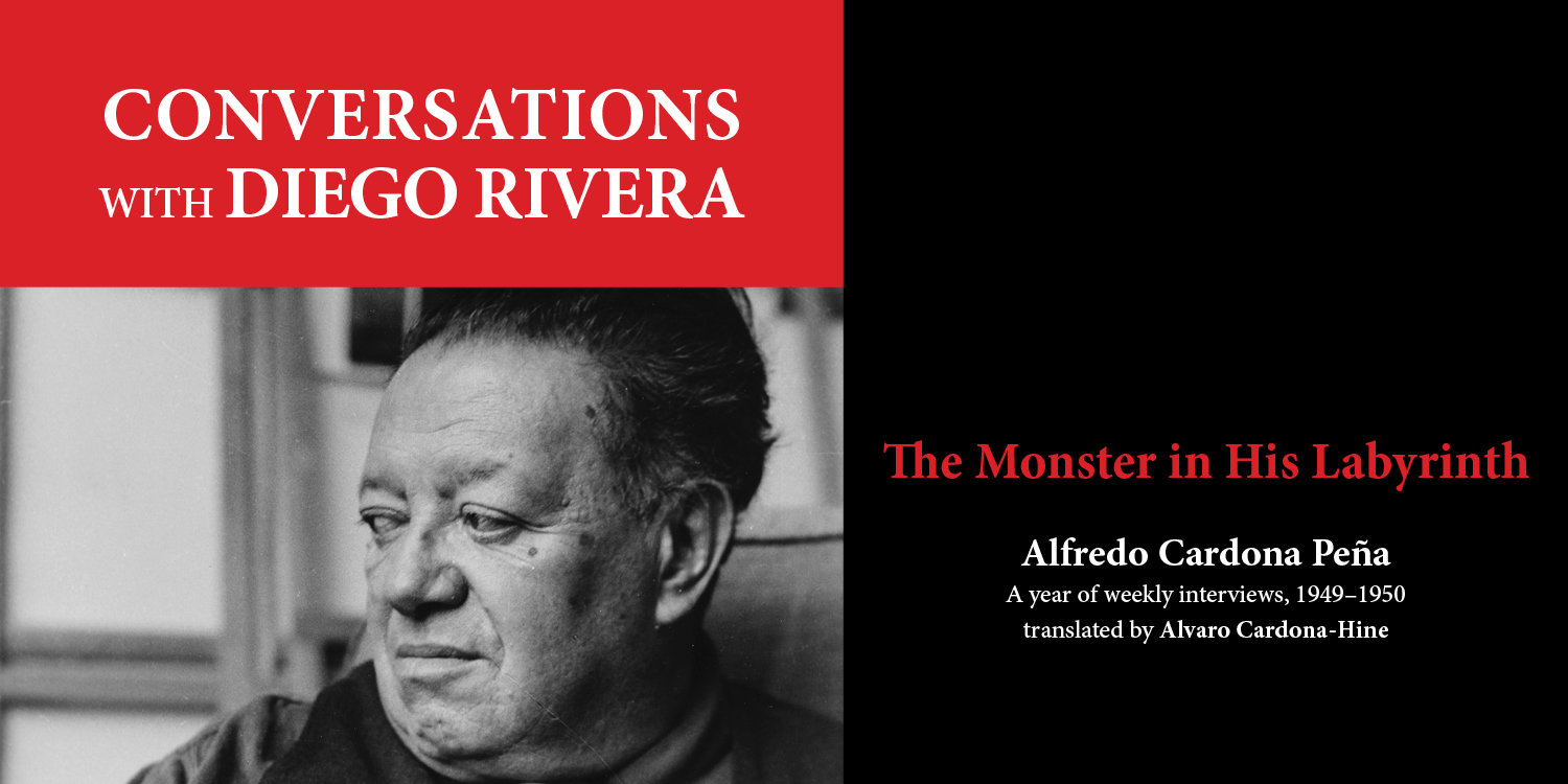 Conversations with Diego Rivera book graphic
