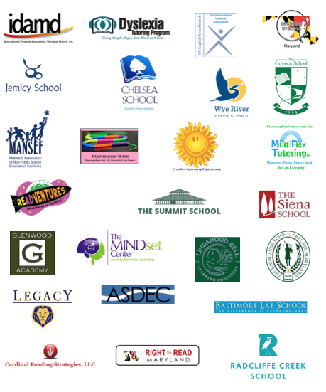 Dyslexia Advocacy Day Community Sponsors