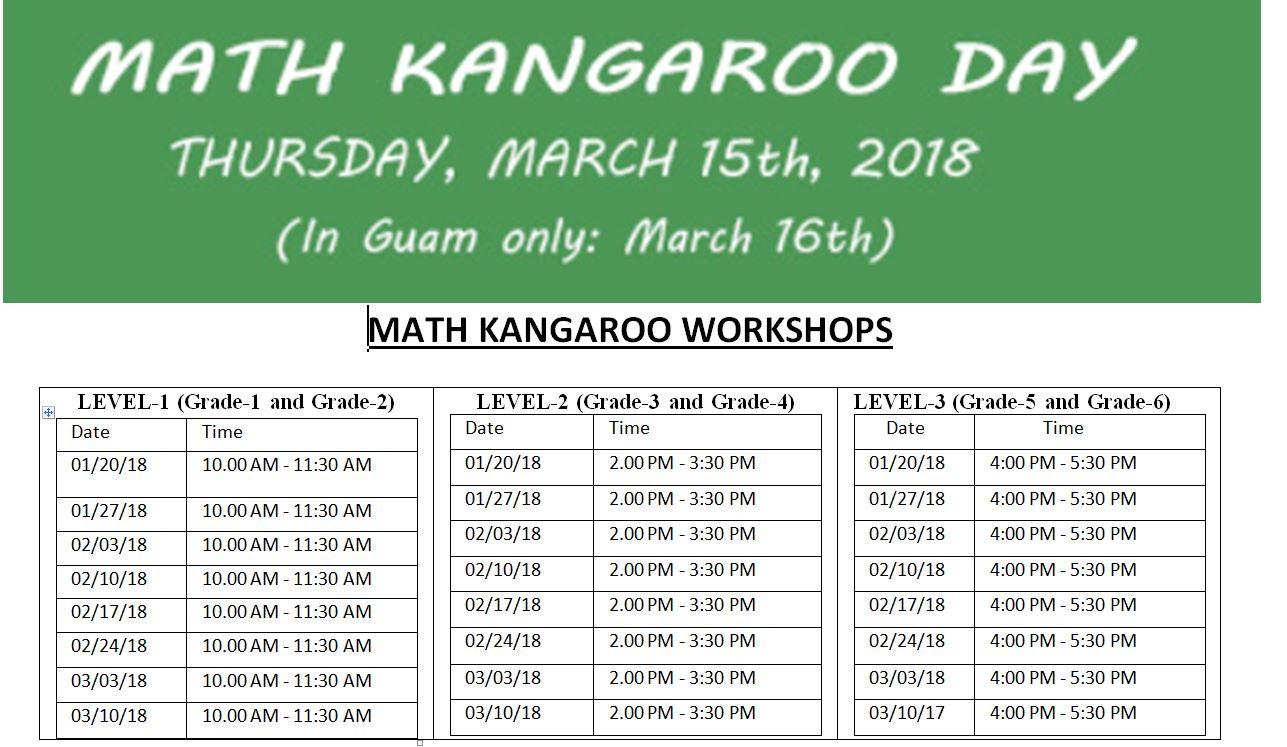 Math Kangaroo Worksheets For Grade 6 | worksheet example