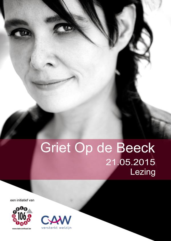 Lezing Griet Op de Beeck