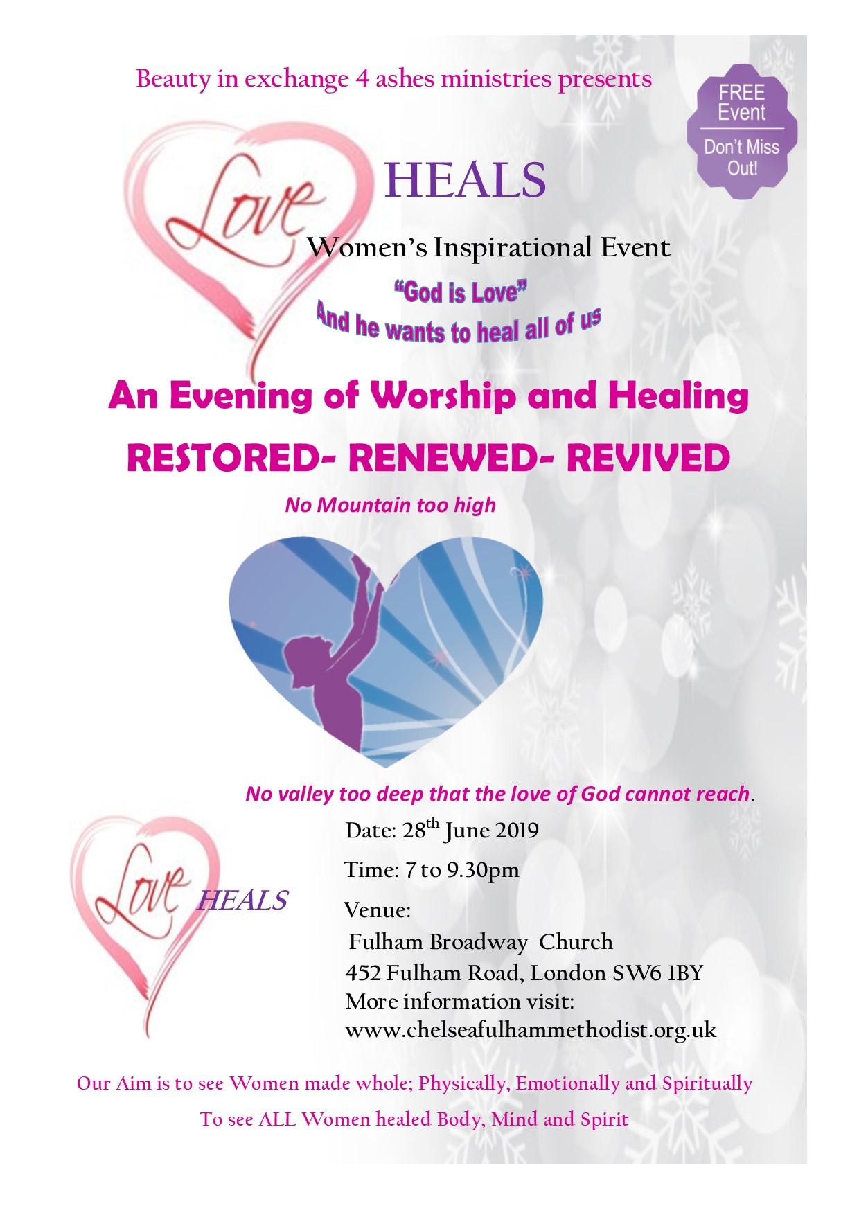 Love Heals Poster