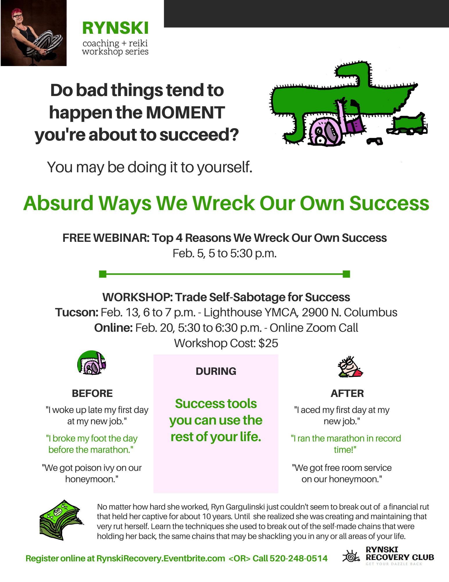 how we wreck our own success rynski coaching