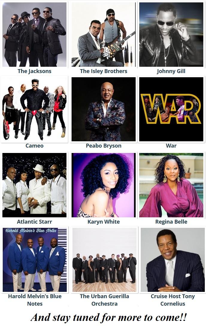 Soul Train Cruise 2020.2020 Soul Train Cruise Tickets Sat Jan 18 2020 At 5 00 Pm
