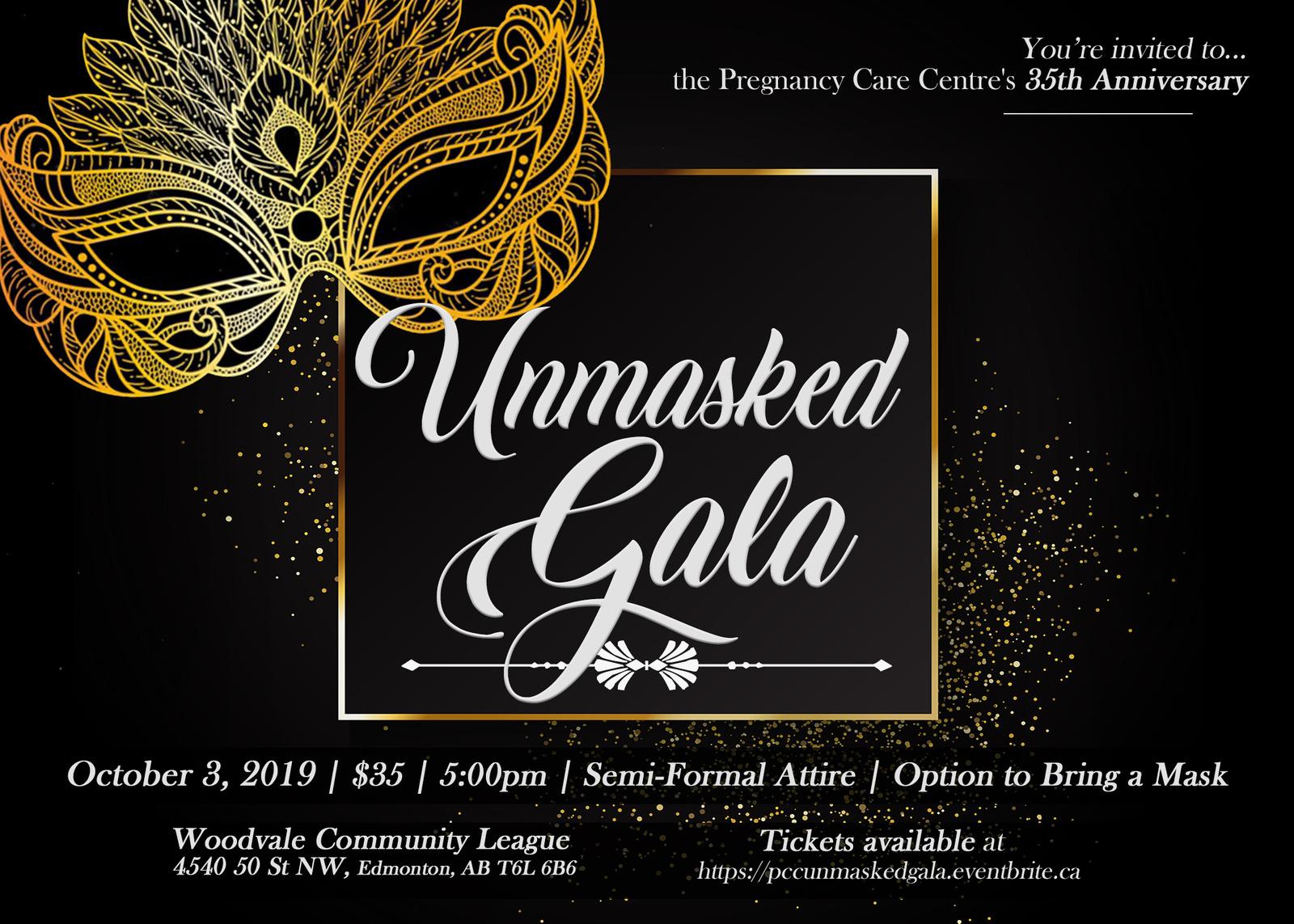 Unmasked Gala Edmonton 2019