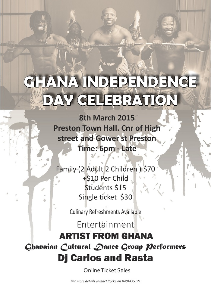Ghana Independence Day Celeberation