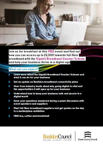 Digital Basildon leaflet - second page