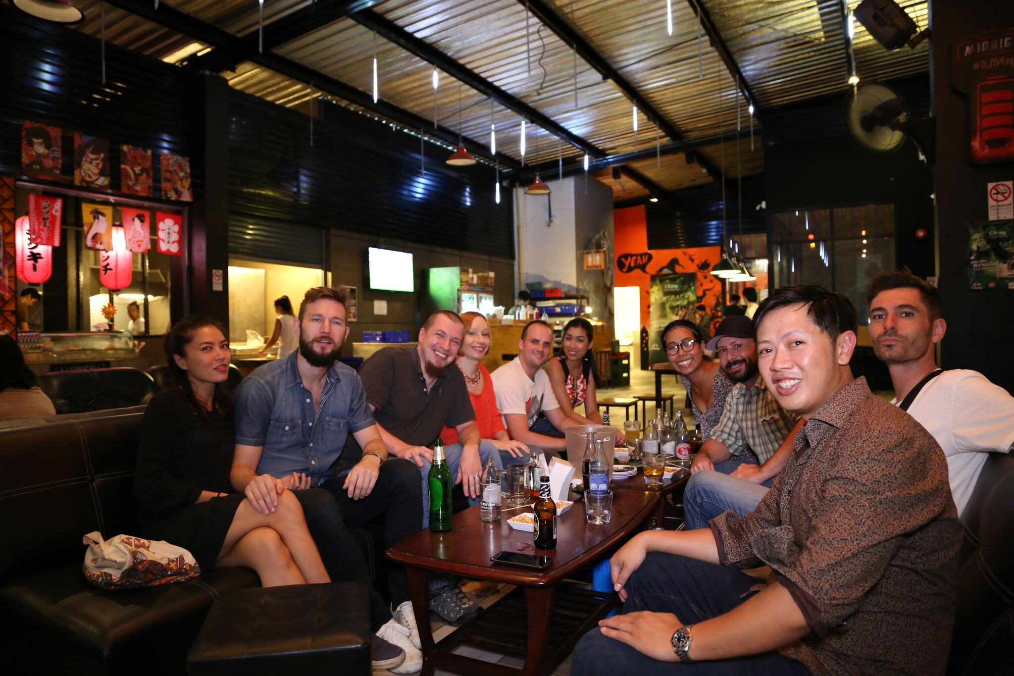 my crew in Chiang Mai Thailand