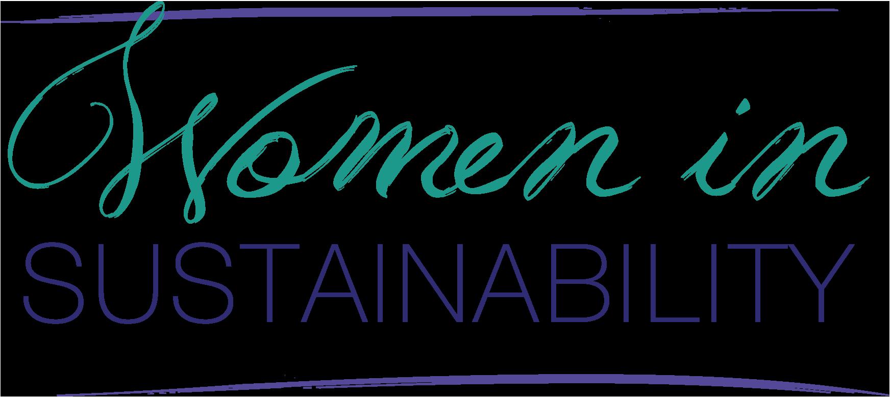 Women in Sustainability Logo