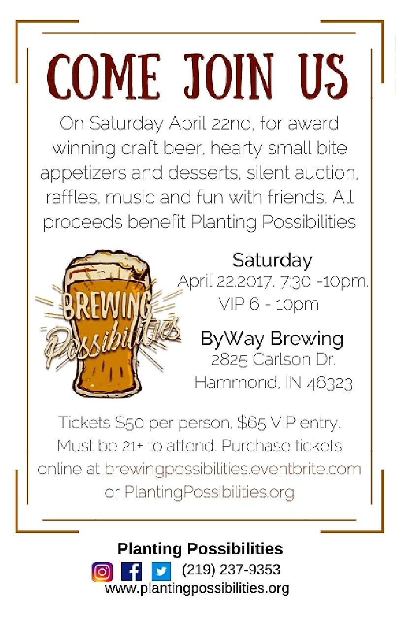 Brewing Possibilities Event Description