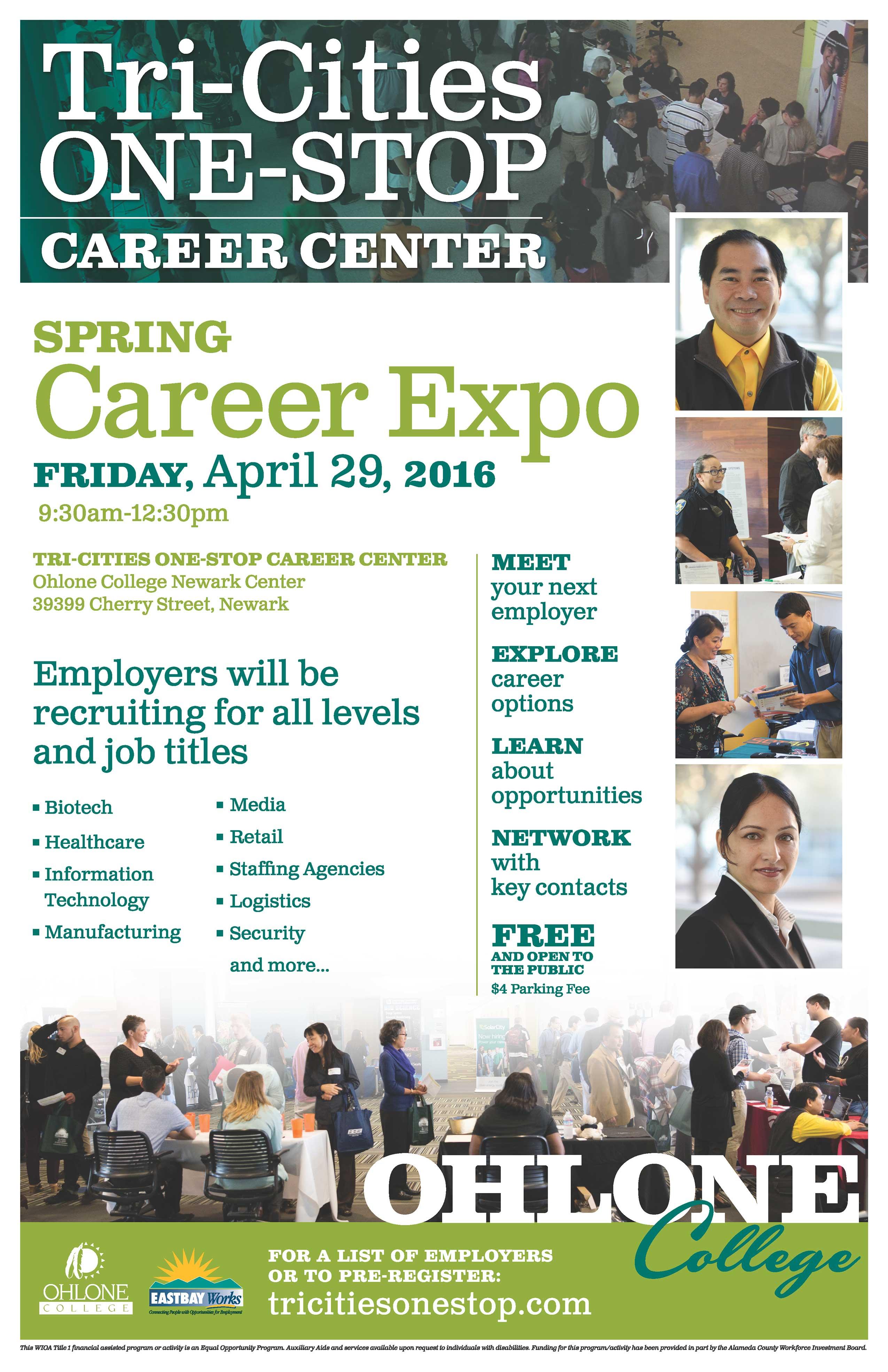 job fair spring career expo tickets fri apr at  job fair career expo flyer