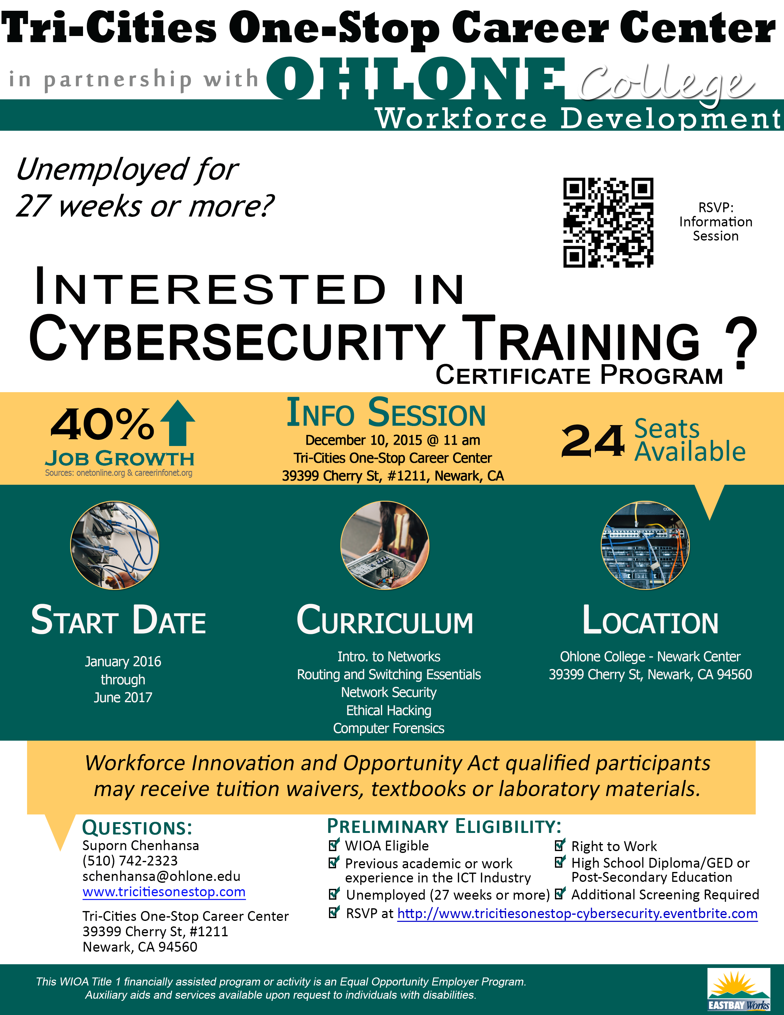 ICT/Cybersecurity Information  Session
