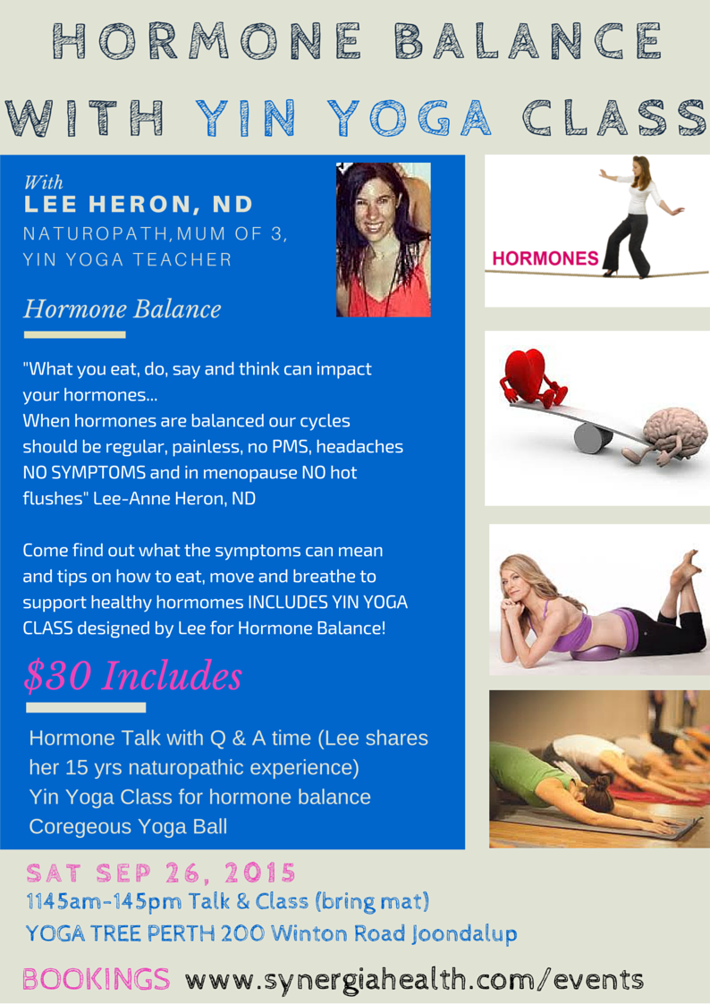 hormone balance yin class sat26