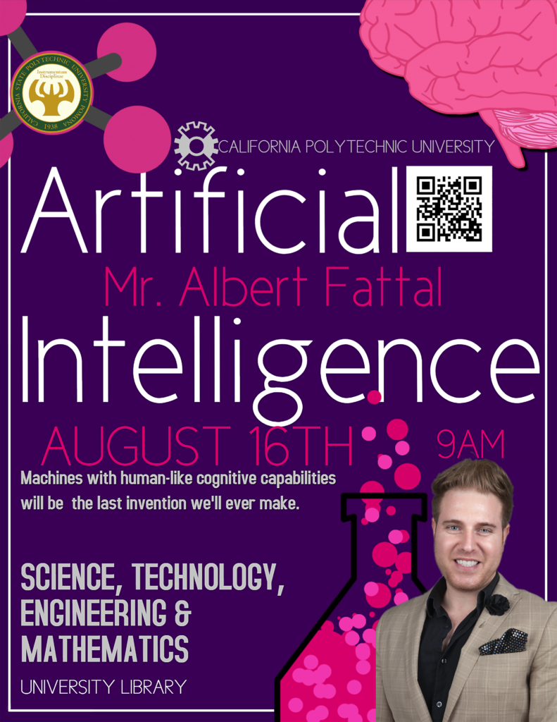 Albert Fattal Presents a Lecture on AI Technology in Modern Society