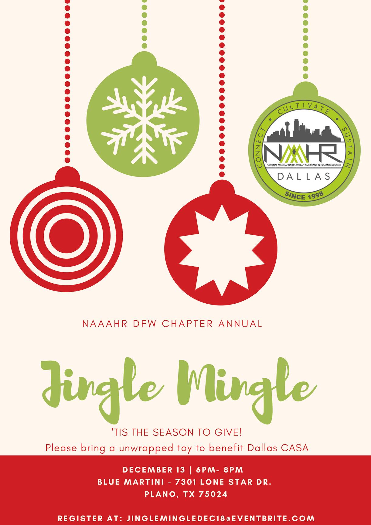 Jingle Mingle NAAAHR 2018