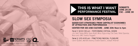 SLOW SEX SYMPOSIA