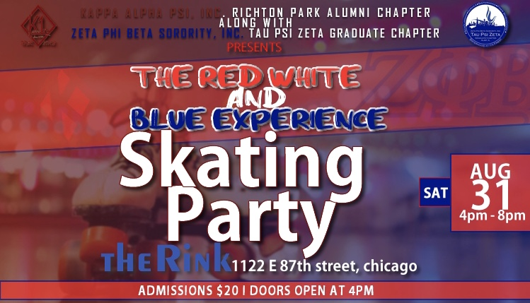 Red, White & Blue Experience   Skating Party