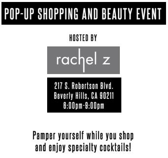 Pop Up Shopping & Beauty Event