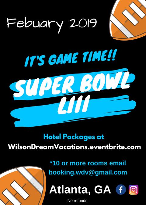 Superbowl 53 Atlanta Ga Tickets Fri Feb 1 2019 At 8 00 Am Eventbrite