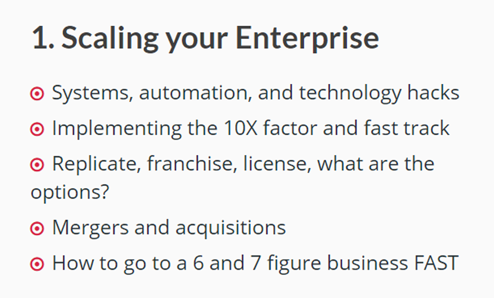 1 Scaling your enterprise