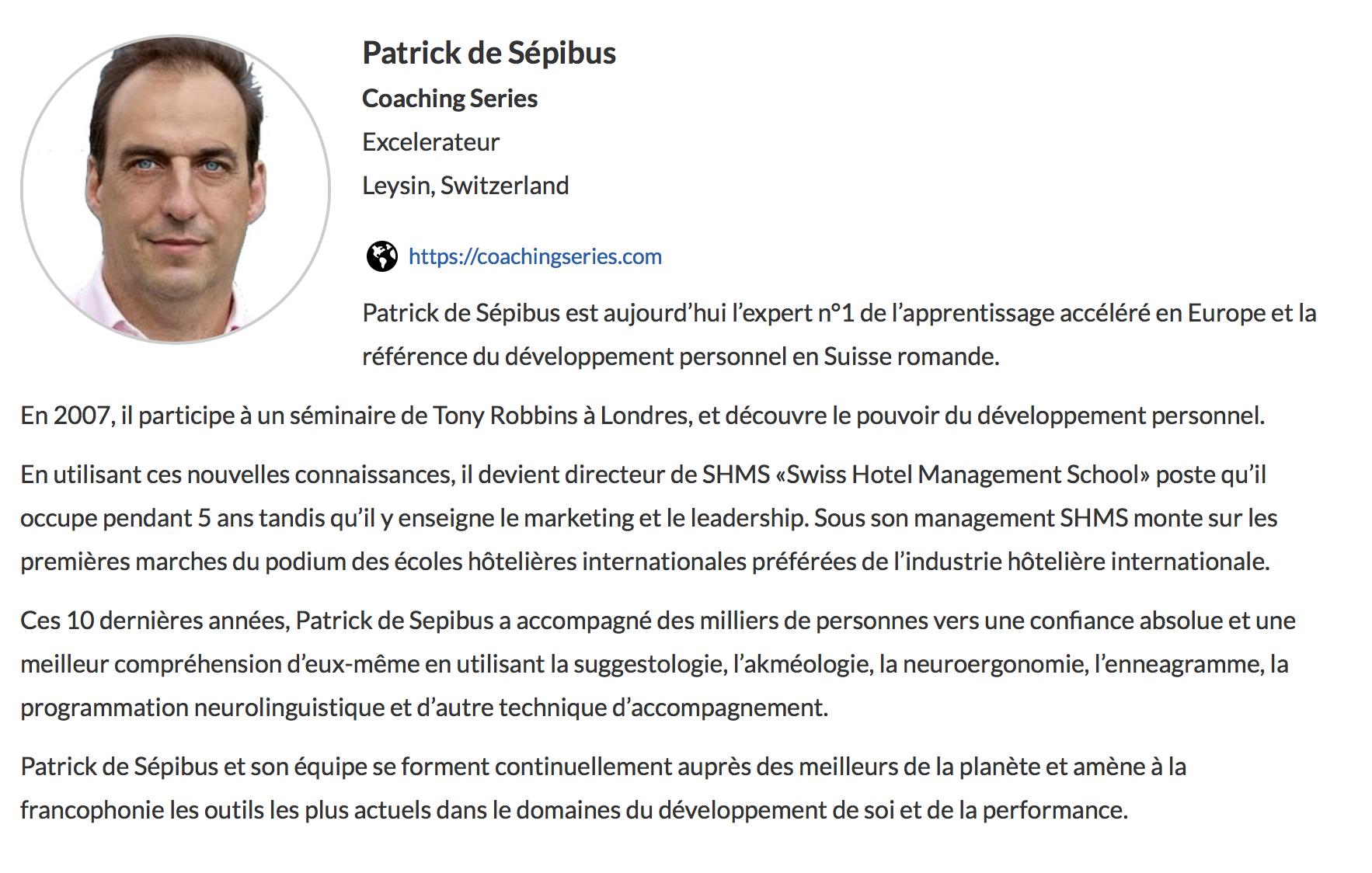 Patrick de Sépibus