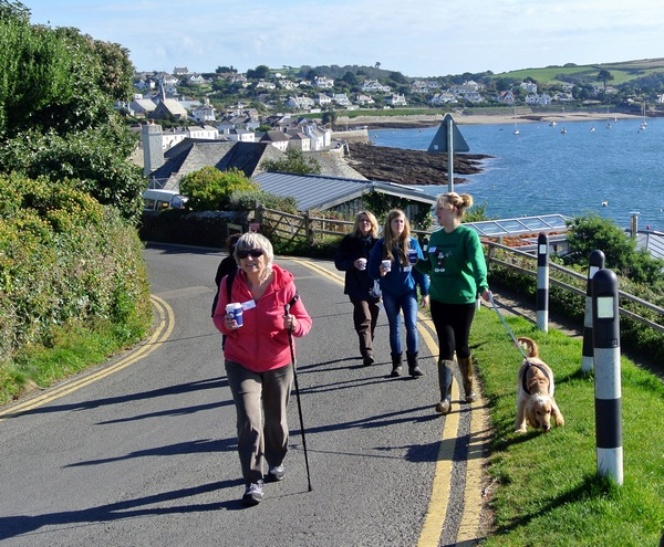 FRW 2015 Walking from St Mawes
